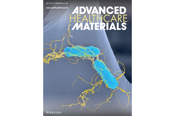Cover of Advanced Healthcare Materials